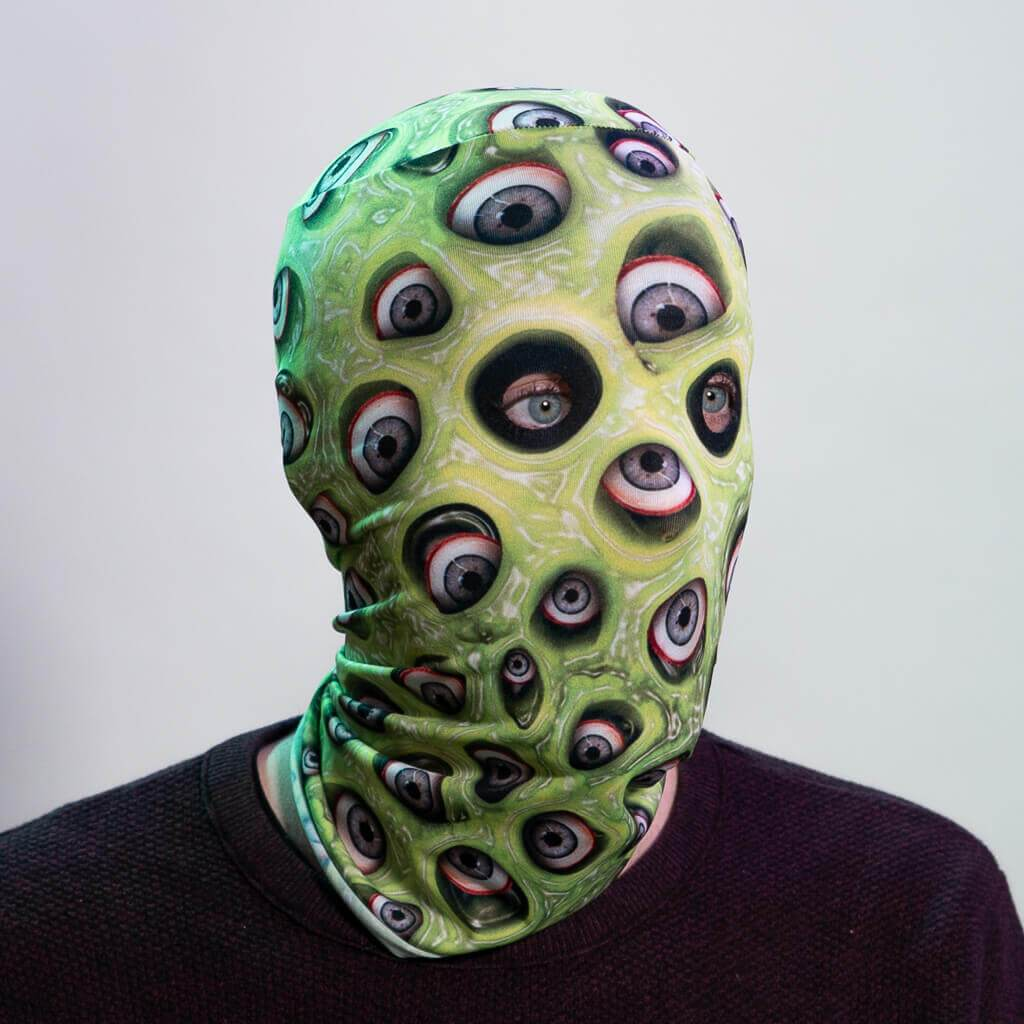 Horror MaskSlime Eye Monster - Green