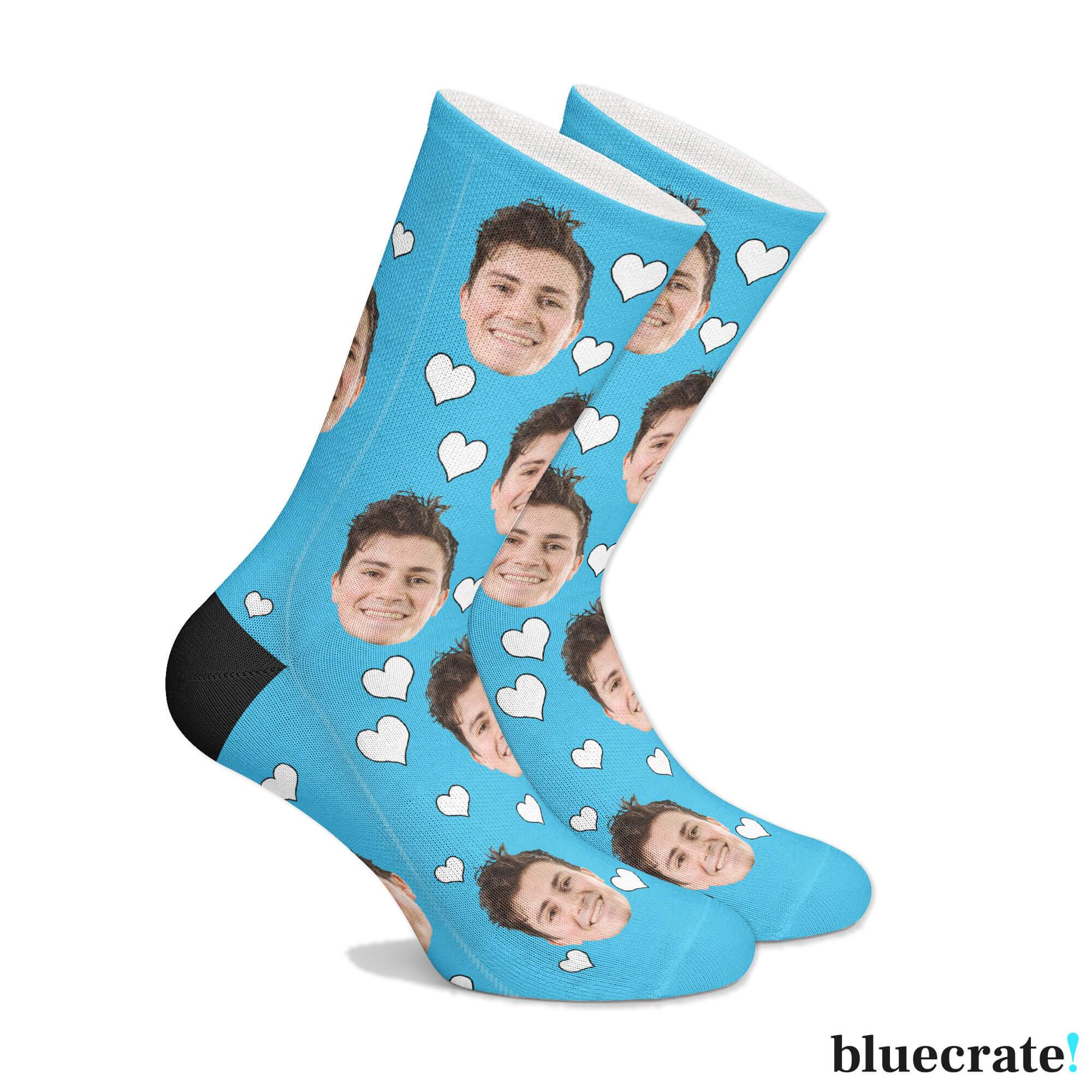 Custom Face Socks (3644549726313)