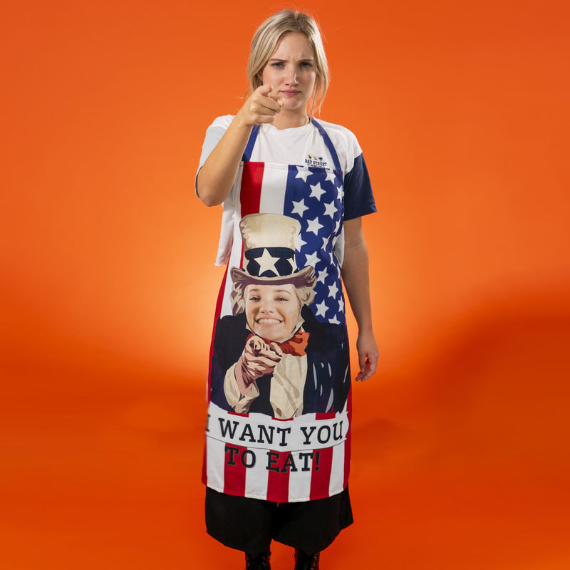 Personalized USA Aprons (3644547694697)