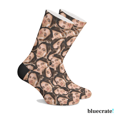 Customized Many Face Socks