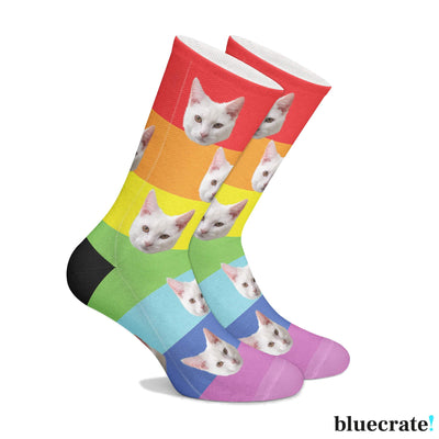 Customizable Pride Socks (3644549267561)