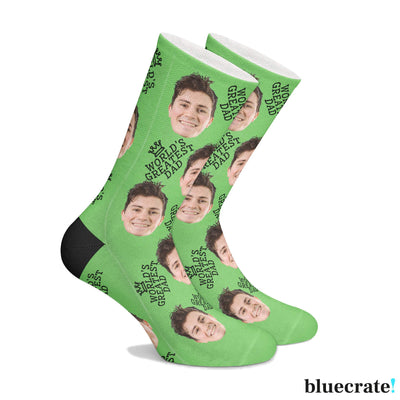Customized World's Greatest Dad Socks
