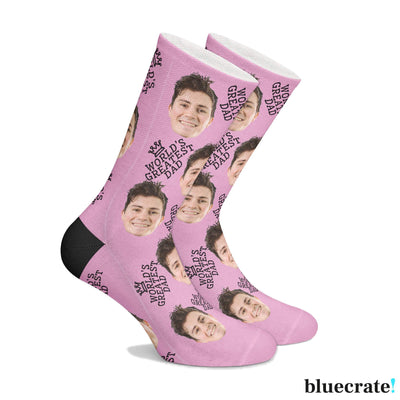 Customized World's Greatest Dad Socks (3644548710505)