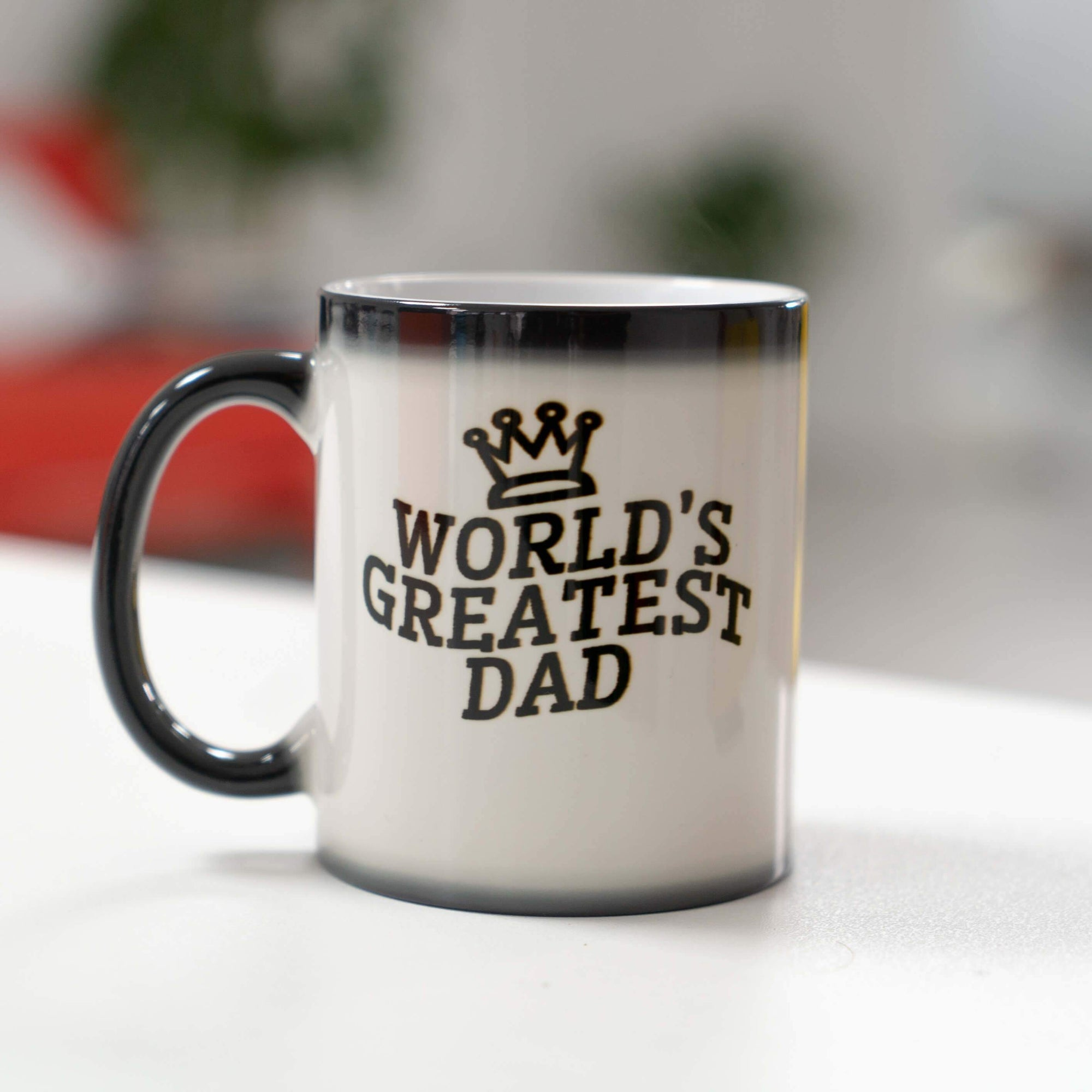 World's Greatest Dad Customized Heat Change Mug (3644548317289)