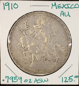 1910 Caballito Peso Choice Original Piece Stunning Design