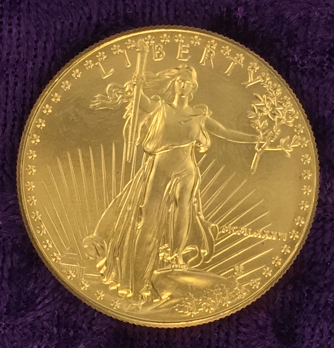 AMERICAN GOLD EAGLE QUARANTINE SPECIAL $1825.00
