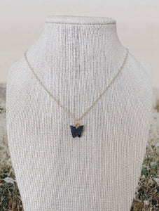 BUTTERFLY NECKLACE - Olive Lynn