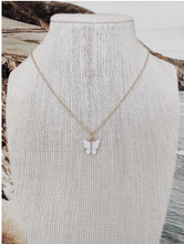 Load image into Gallery viewer, BUTTERFLY NECKLACE - Olive Lynn