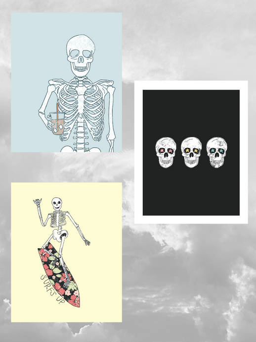 SKELETON PRINT PACK