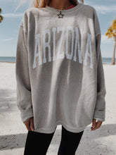 Load image into Gallery viewer, ARIZONA CORDED CREWNECK - Olive Lynn