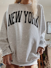 Load image into Gallery viewer, ORIGINAL NEW YORK CREWNECK - Olive Lynn