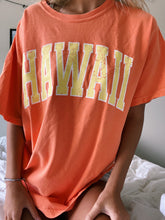 Load image into Gallery viewer, ORANGE & YELLOW HAWAII TEE - Olive Lynn