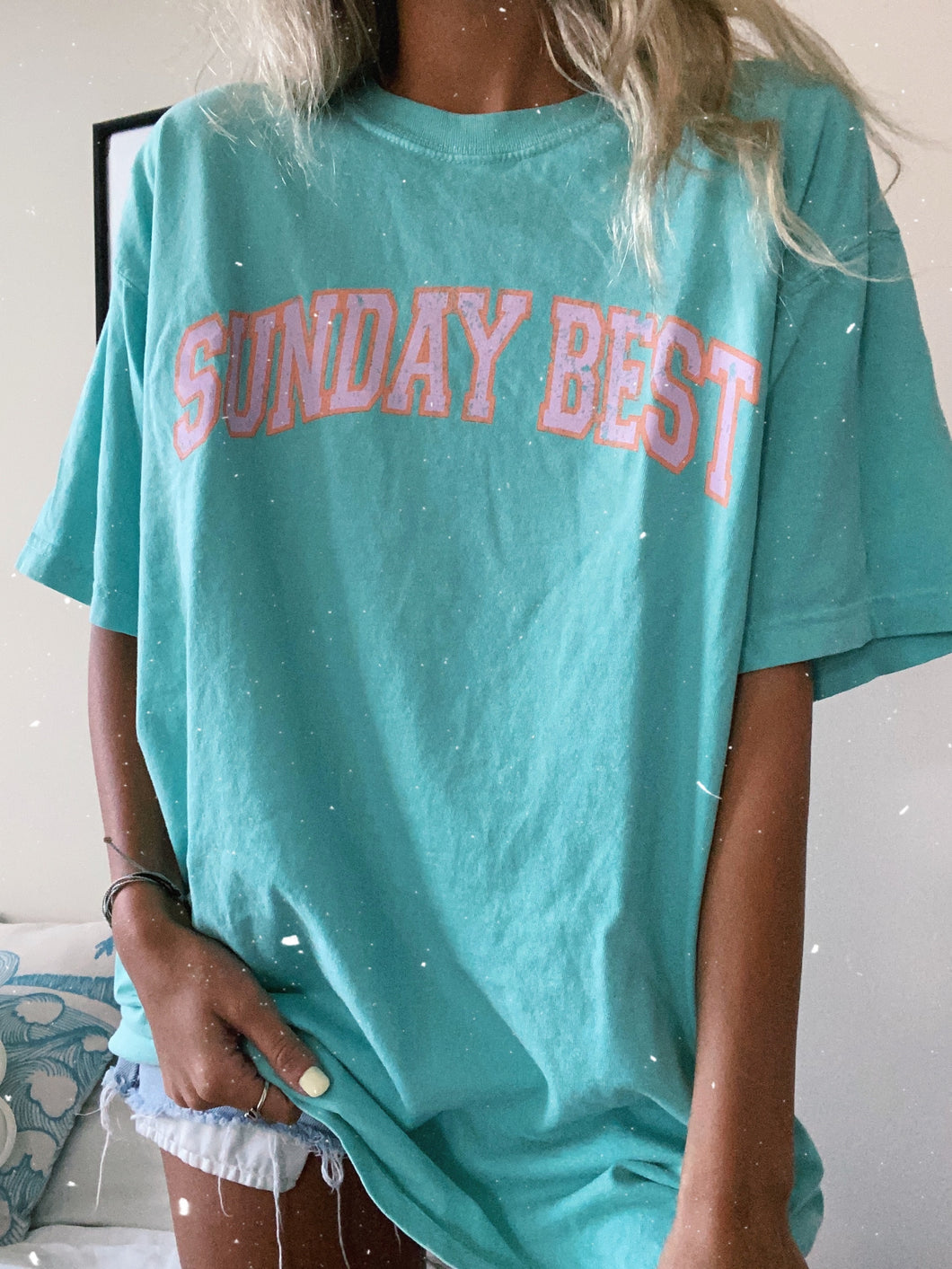 SUNDAY BEST TEE