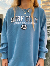 Load image into Gallery viewer, BLUE SURF CITY CREWNECK
