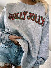 Load image into Gallery viewer, HOLLY JOLLY CREWNECK