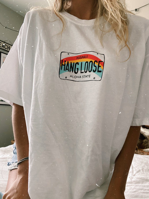 RAINBOW HANG LOOSE TEE