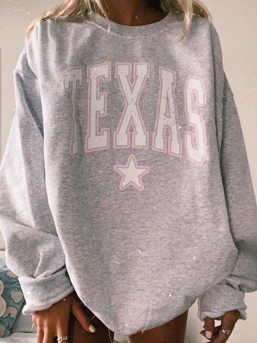 TEXAS STAR SWEATSHIRT