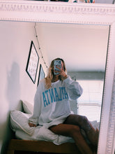 Load image into Gallery viewer, WHITE ATLANTA CREWNECK - Olive Lynn