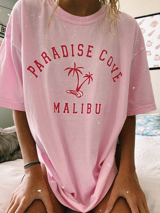 PINK PARADISE COVE TEE