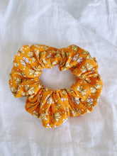 Load image into Gallery viewer, ORANGE BUTTERFLY SCRUNCHIE
