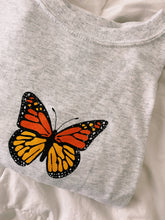 Load image into Gallery viewer, ORANGE BUTTERFLY TEE - Olive Lynn