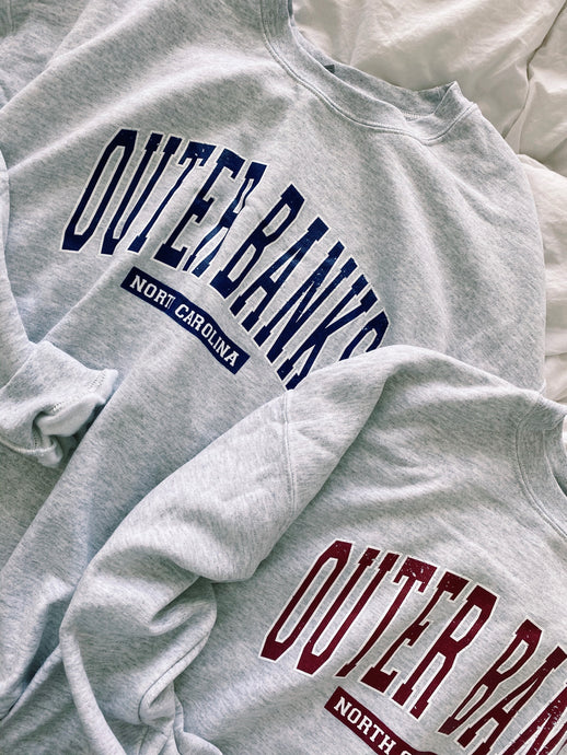 ORIGINAL OUTERBANKS CREWNECK - Olive Lynn