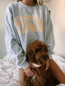 ORIGINAL VIRGINIA CREWNECK - Olive Lynn