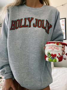 HOLLY JOLLY CREWNECK