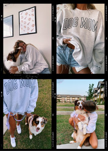 ORIGINAL DOG MOM CREWNECK