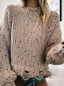 UP ALL NIGHT SWEATER