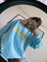 Load image into Gallery viewer, LIGHT BLUE SUNKISSED SWEATSHIRT - Olive Lynn