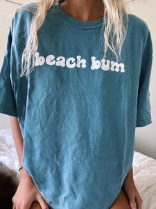 BLUE BEACH BUM TEE - Olive Lynn