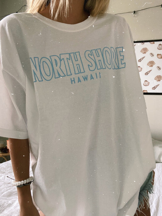 WHITE NORTH SHORE TEE - Olive Lynn