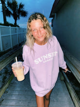 Load image into Gallery viewer, LILAC SUNSET CHASIN' SWEATSHIRT - Olive Lynn