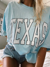 Load image into Gallery viewer, BABY BLUE TEXAS TEE