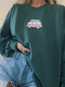HOLIDAY VAN LONG SLEEVE TEE