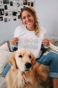 DOG MOM SWEATSHIRT - Olive Lynn