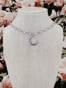 """TO THE MOON & BACK"" CHOKER - Olive Lynn"