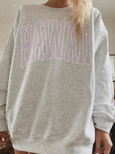 ORIGINAL HAWAII CREWNECK - Olive Lynn