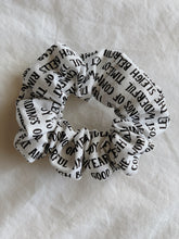 Load image into Gallery viewer, CHRISTMAS LIST SCRUNCHIE