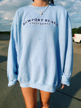 Load image into Gallery viewer, NEWPORT BEACH SWEATSHIRT - Olive Lynn
