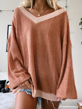 Load image into Gallery viewer, WAFFLE KNIT SWEATER