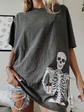 Load image into Gallery viewer, ICED COFFEE SKELETON TEE