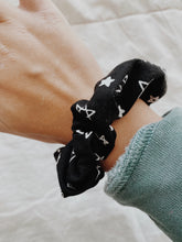 Load image into Gallery viewer, MIDNIGHT STARS SCRUNCHIE - Olive Lynn