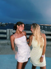 Load image into Gallery viewer, SUMMER NIGHTS WHITE ROMPER