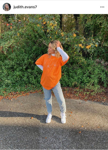 ORANGE BOO-GIE TEE