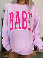 Load image into Gallery viewer, PINK BABE SWEATSHIRT - Olive Lynn