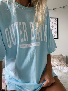 OUTERBANKS TEE (multiple color options) - Olive Lynn