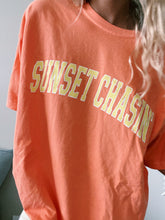 Load image into Gallery viewer, CITRUS SUNSET CHASIN' TEE - Olive Lynn