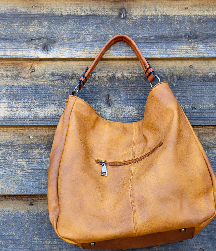 FAUX LEAHTER BUCKET BAG